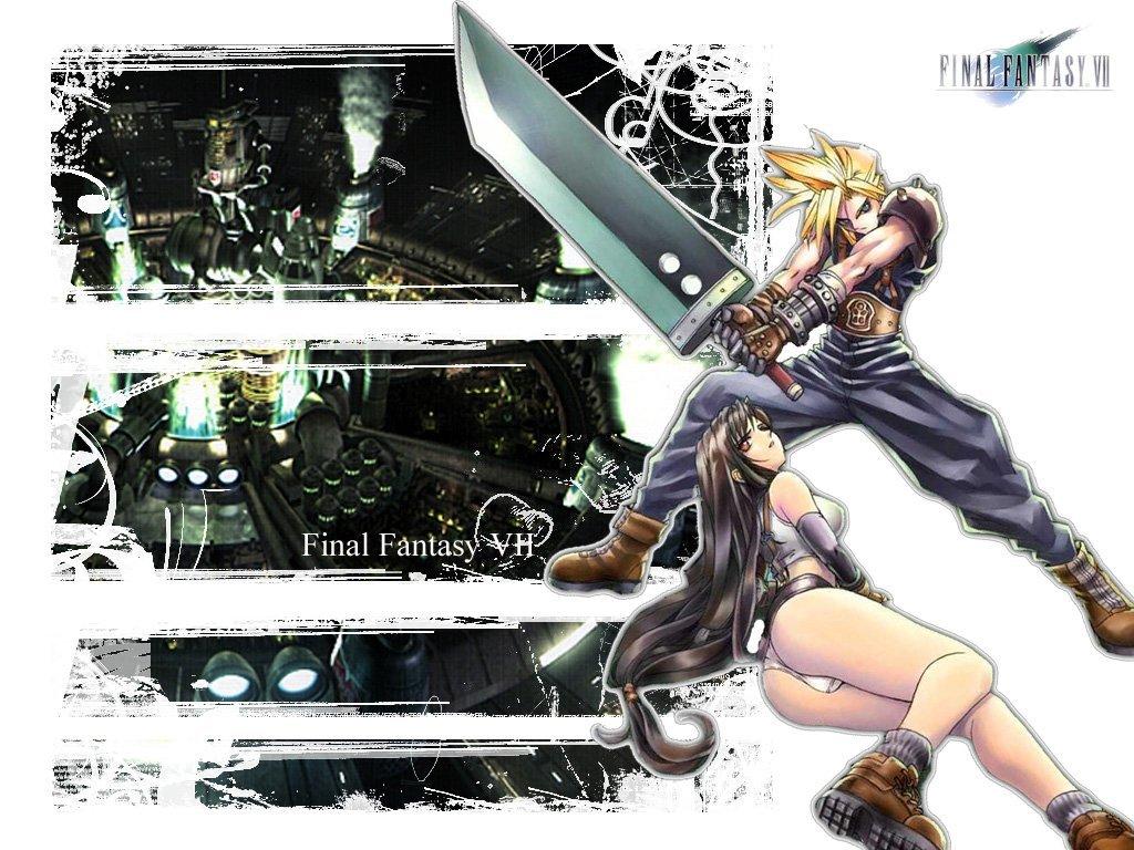 Cloud Final Fantasy 7 Art