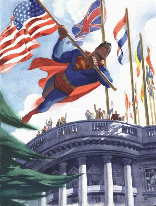 [REFERENDUM-SONDAGE RP] Bruce Wayne, Président des USA ? SupermanWhiteHouse