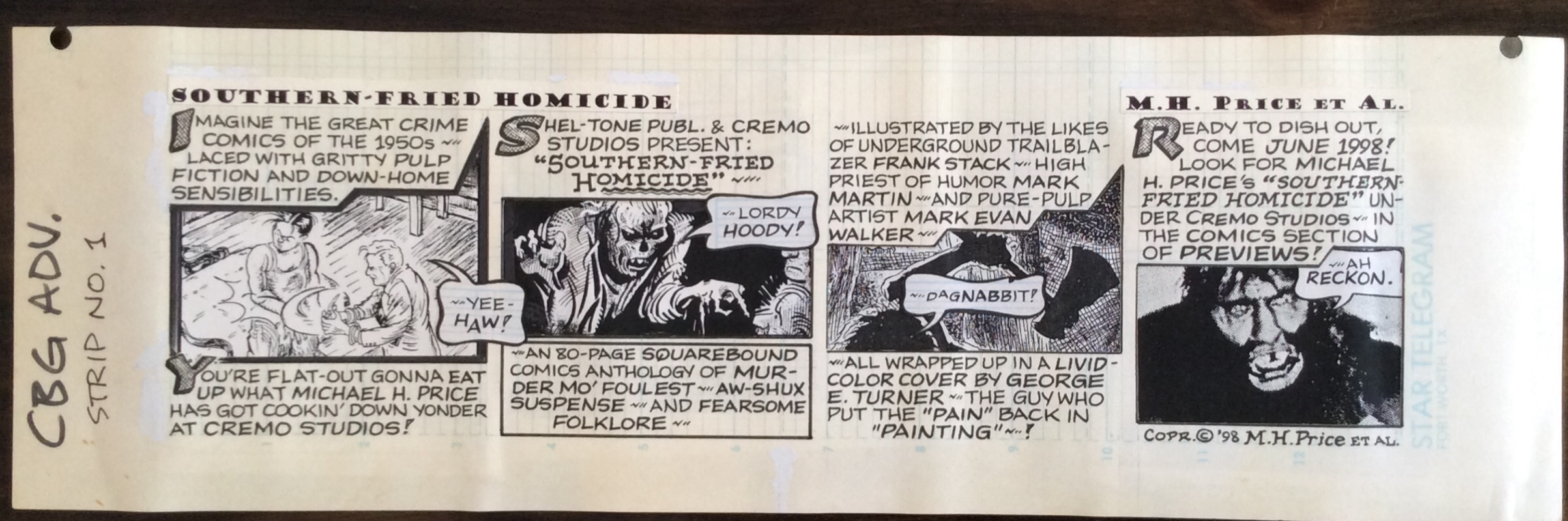 Southern comcic strips