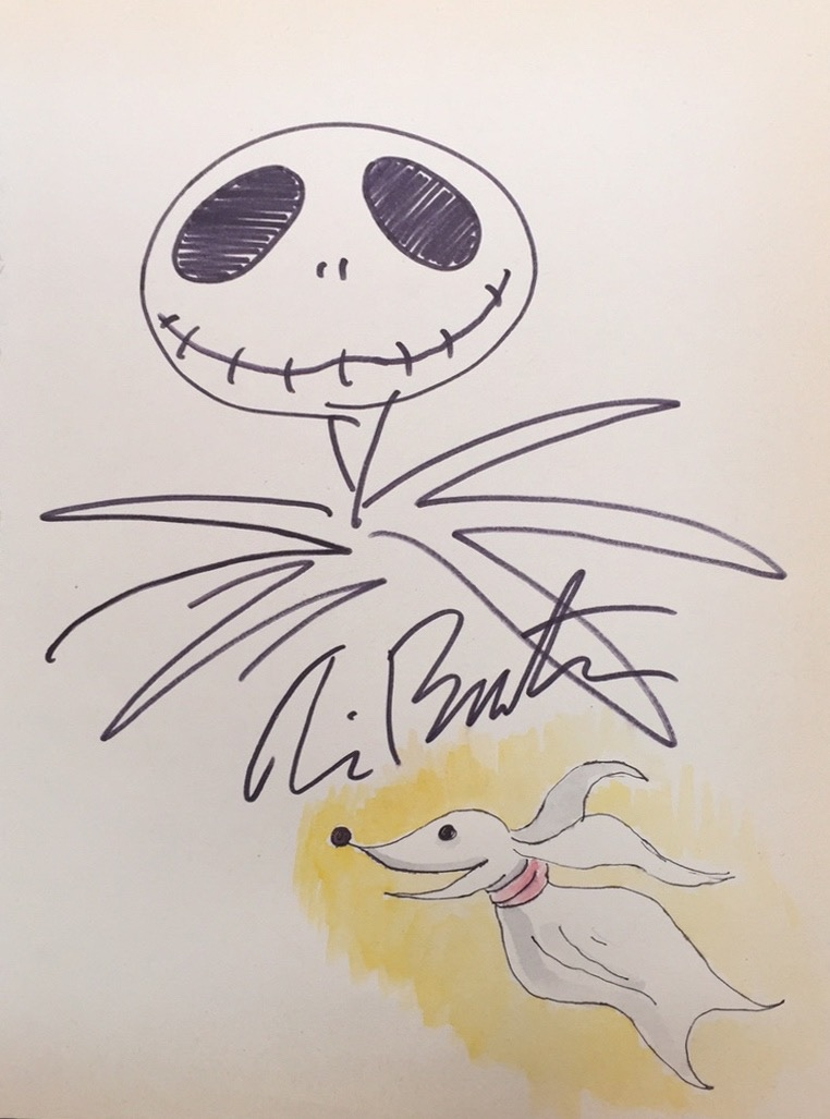 Zero & Jack Skellington from The Nightmare Before Christmas [Pin Up ...