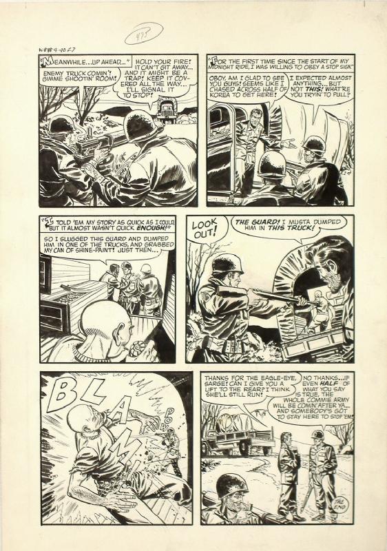 Joe Certa & John Belfi - War Battles #4 pg 8, in Ben Samuels's
