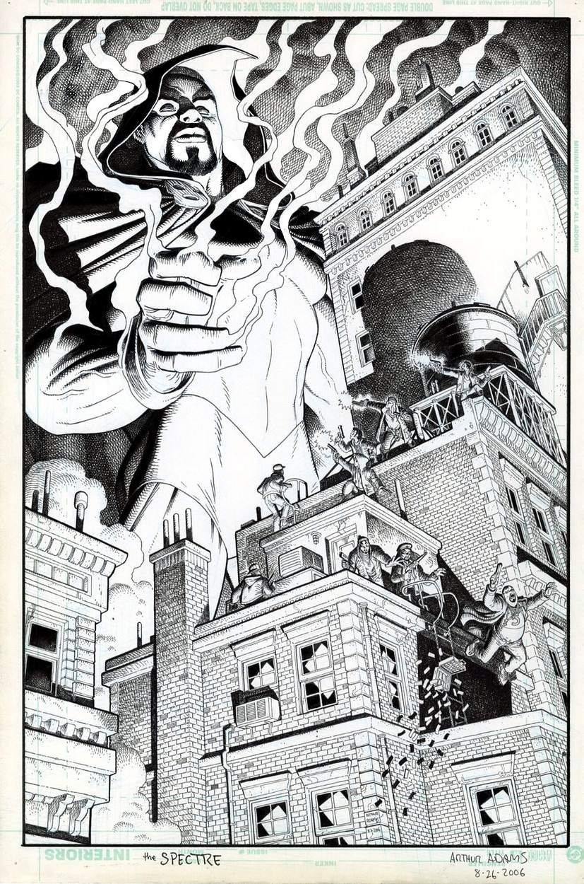 Tales of the Unexpected featuring The Spectre #7 Cover by Arthur (Art) Adams