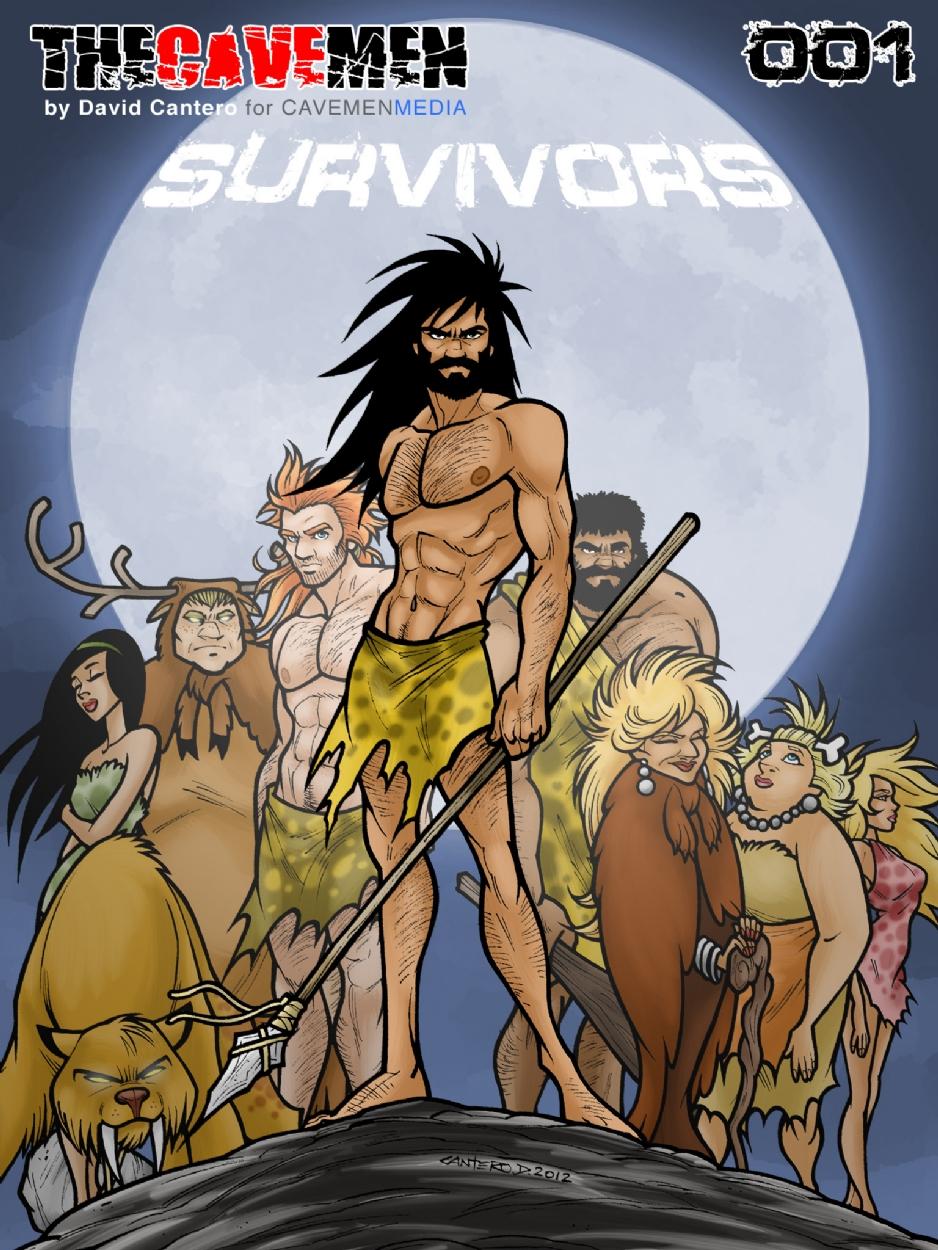 THE CAVEMEN 001 - SURVIVORS Comic Art