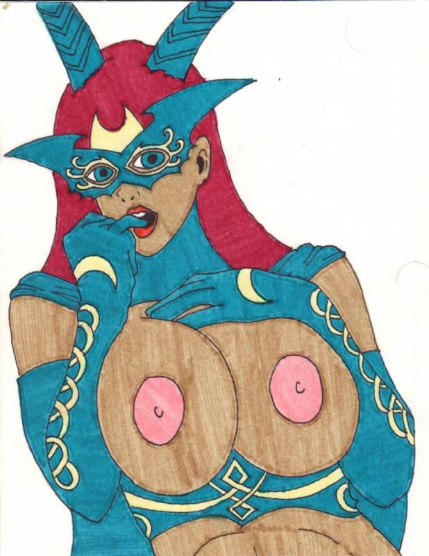 Tarot Fan Art (Nudity) Comic Art