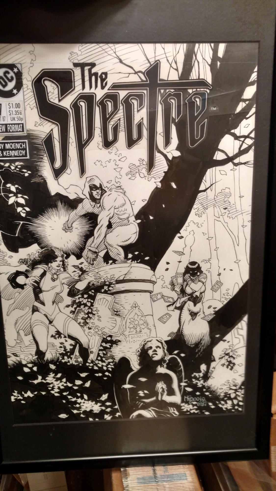 The Spectre #7 Cover by Mike Mignola! Comic Art