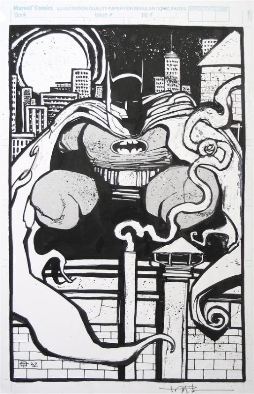 Batman by Ted McKeever , in Daryl R's BATMAN !!!!! Comic Art Gallery