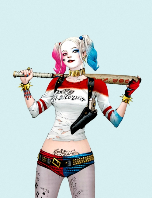 Harley Quinn By Jae Lee Margot Robbie Of Suicide Squad In Daryl