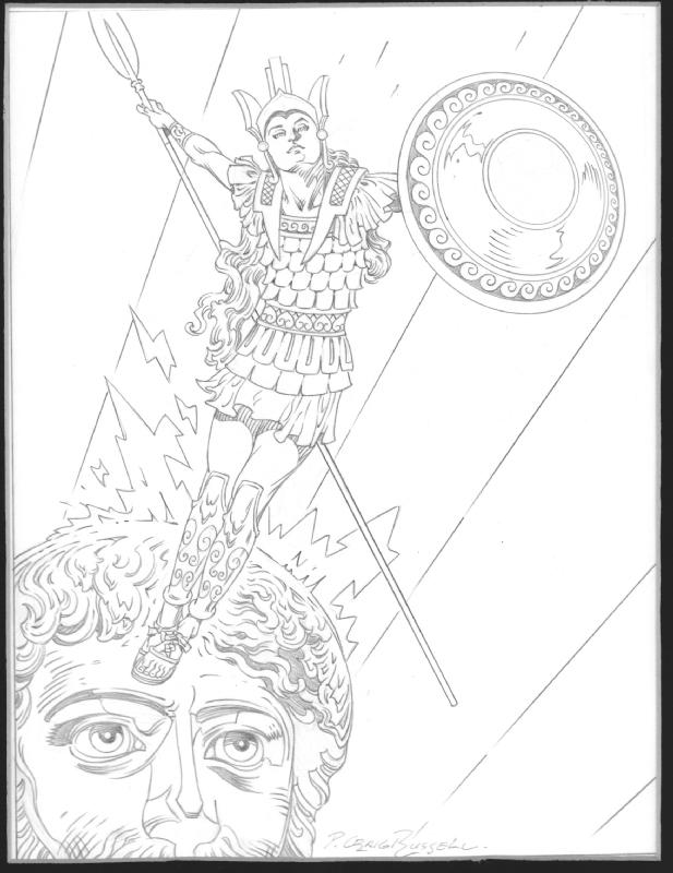 P Craig Russell Athena Goddess Of Wisdom In Jonathan