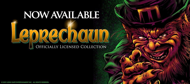 Leprechaun Original Licensed Horror Movie Fright-Rags T