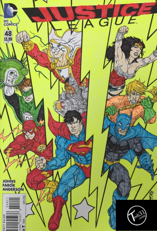 Justice League Volume 2 Issue 48 Cover B Adult