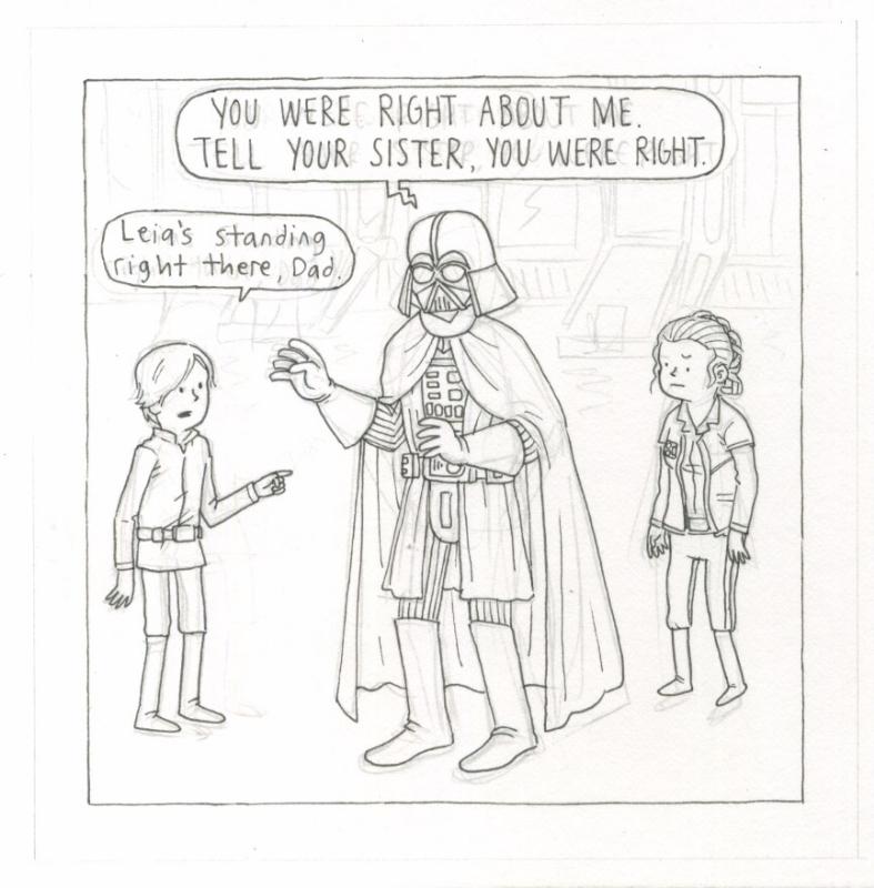 Vader S Little Princess Tell Your Sister Gag In Dan Goodsell S