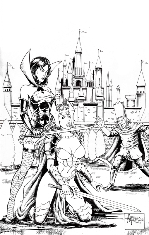 Grimm Fairy Tales Wonderland # 8, in Alfredo Reyes III's