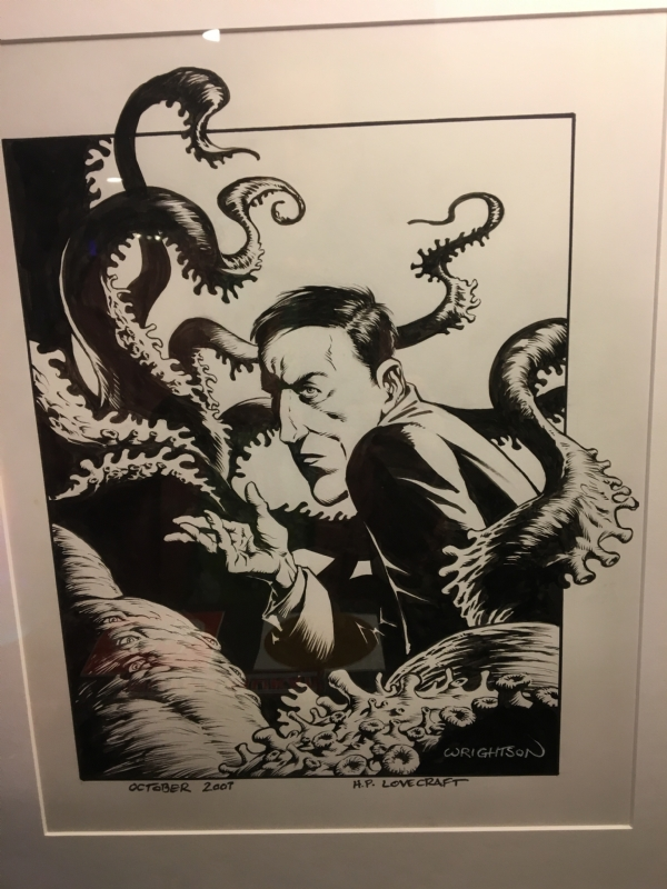 Bernie Wrightson - HP Lovecraft drawing 2007, in Chris