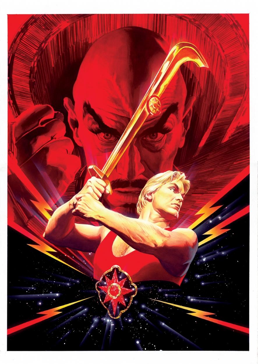Alex Ross Flash Gordon Dvd Cover In Sal Abbinantis Alex Ross