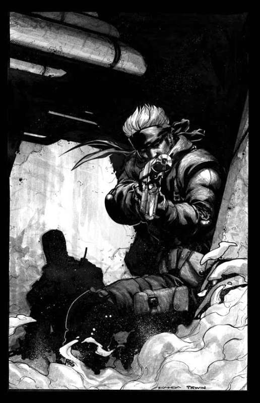 Metal Gear Solid Solid Snake Game Pro 121 Cover Carlos