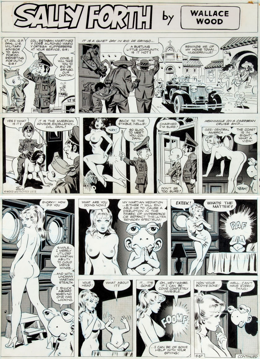 Free erotic comic strip