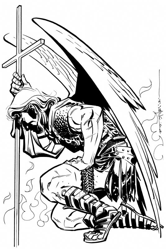 St Michael The Archangel Brian Stelfreeze In John