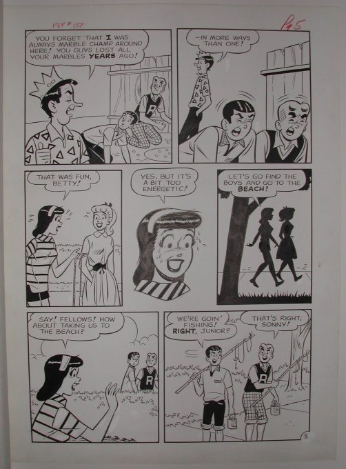 FS Pep 157 Complete 6 Page Story By Dan DeCarlo Rudy