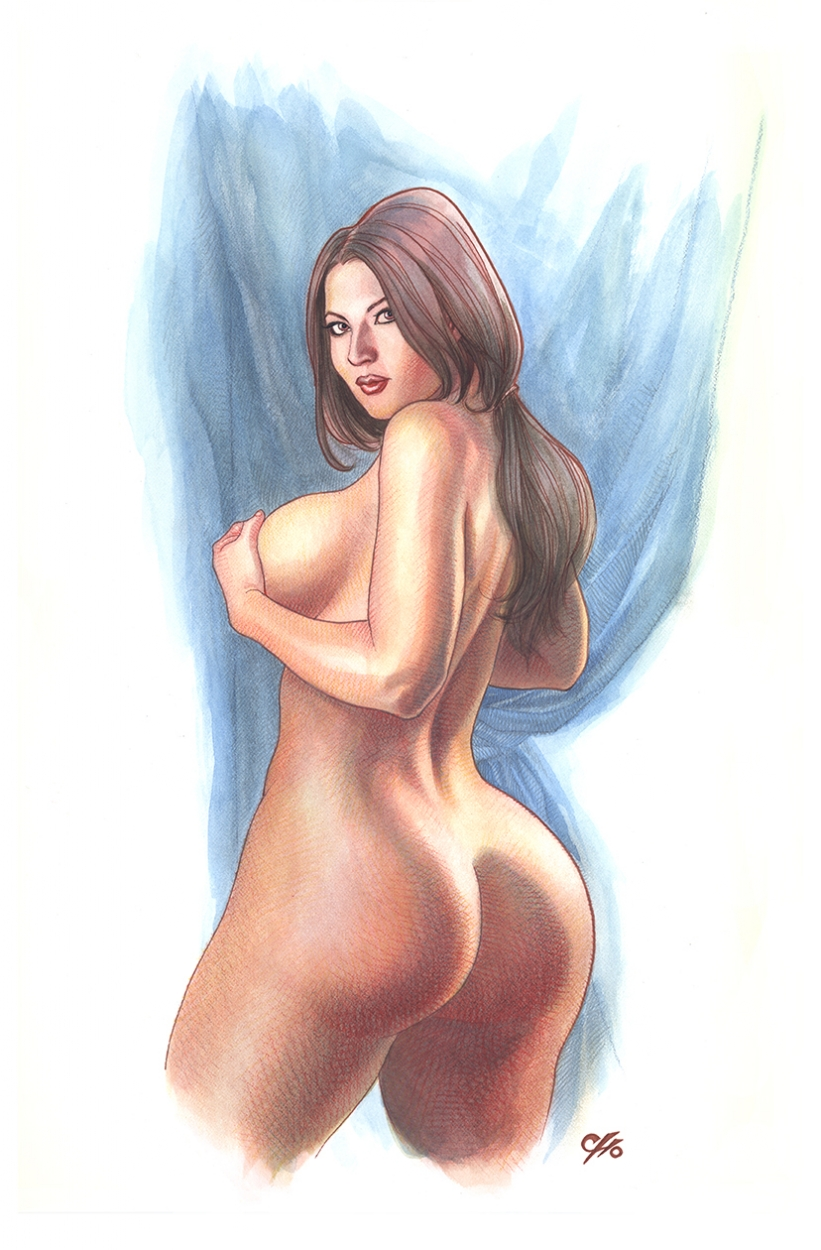 aa120ed15b9 Dat Ass - Ivy Doomkitty Pin-Up, in Frank Cho's Paintings Comic Art ...