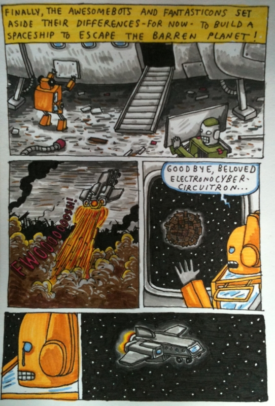 Incredible Change-Bots Book 1 Pg 24 (Jeffrey Brown), in * From The