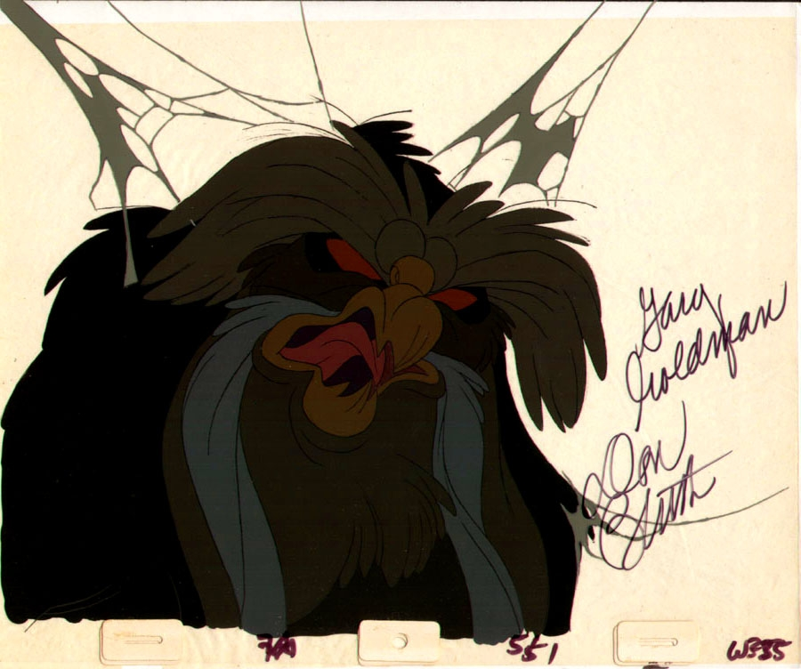 Great Owl From Secret Of Nimh In Dave Morris S Animation Art Don