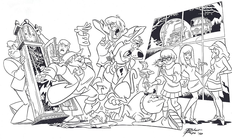 Teen Detectives Scooby Doo Meets The Funky Phantom, In Bsc -9823