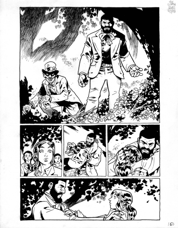 The Sixth Gun 47 Pg 18 By Brian Hurtt In Nathan Turners 2 The