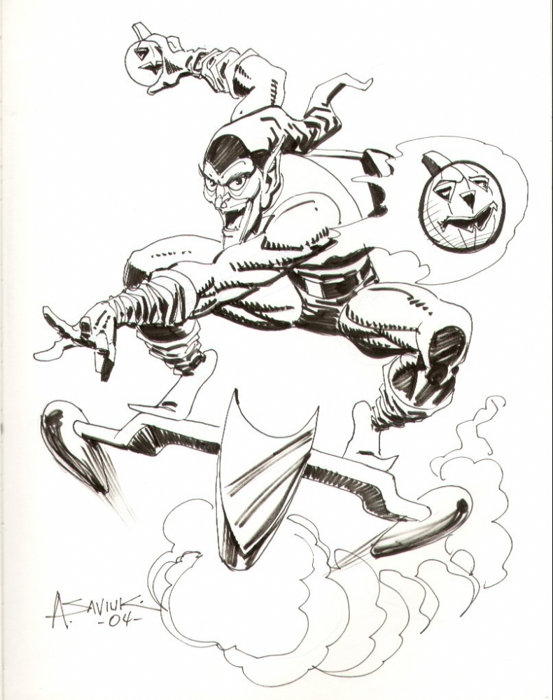 green goblin coloring pages.html