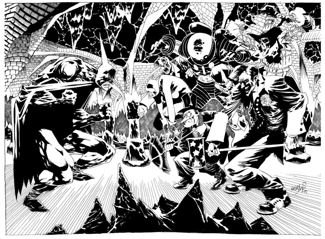 Resultado de imagen para KELLEY JONES batman comic