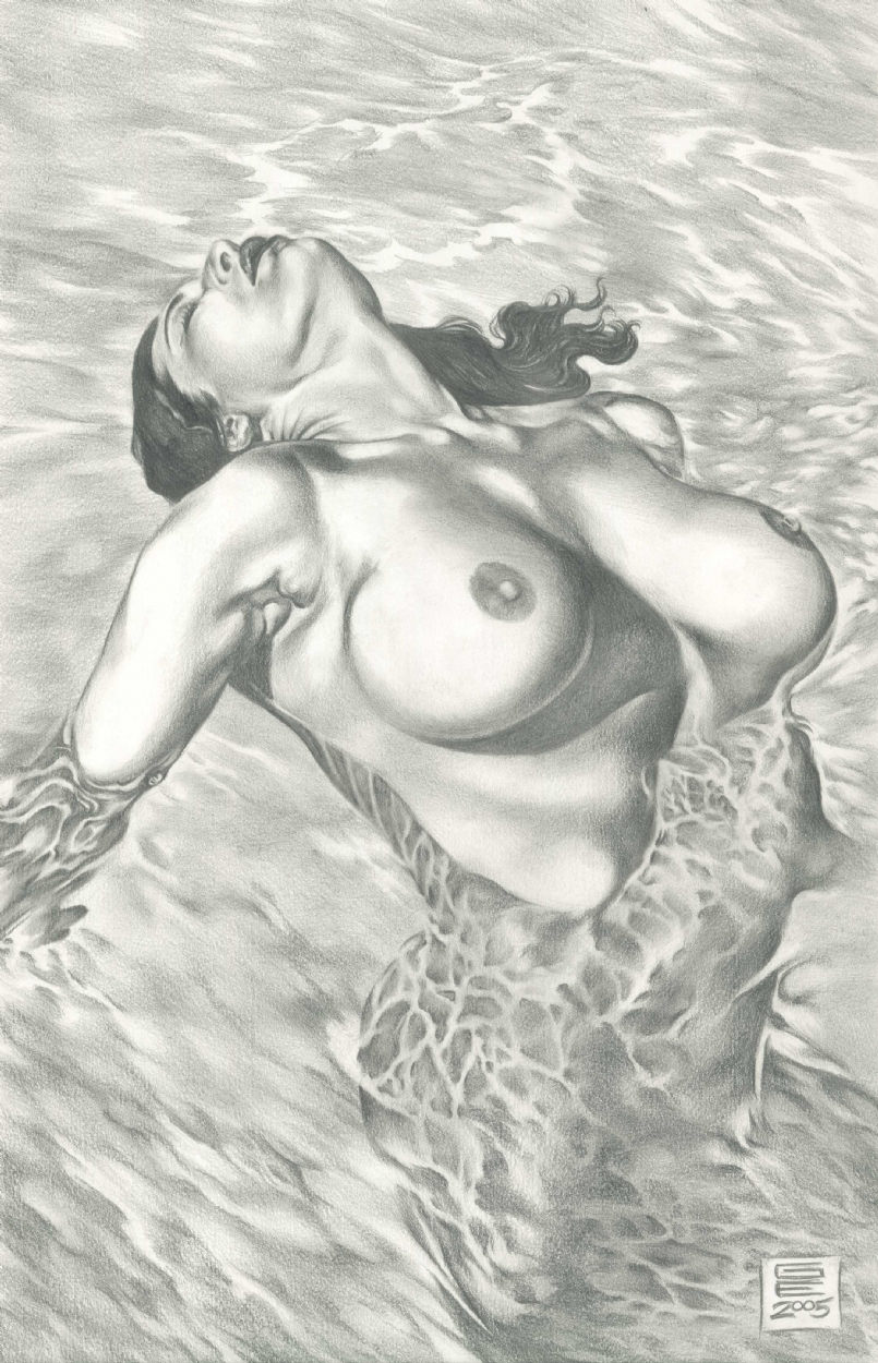 Comic nude art — photo 9