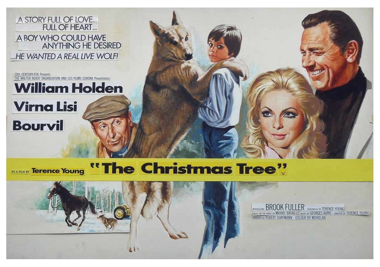 The Christmas Tree 1969 Movie Poster Painting Final In Terry