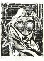 Comic Art Gallery of Ted McKeever at ComicArtFans com
