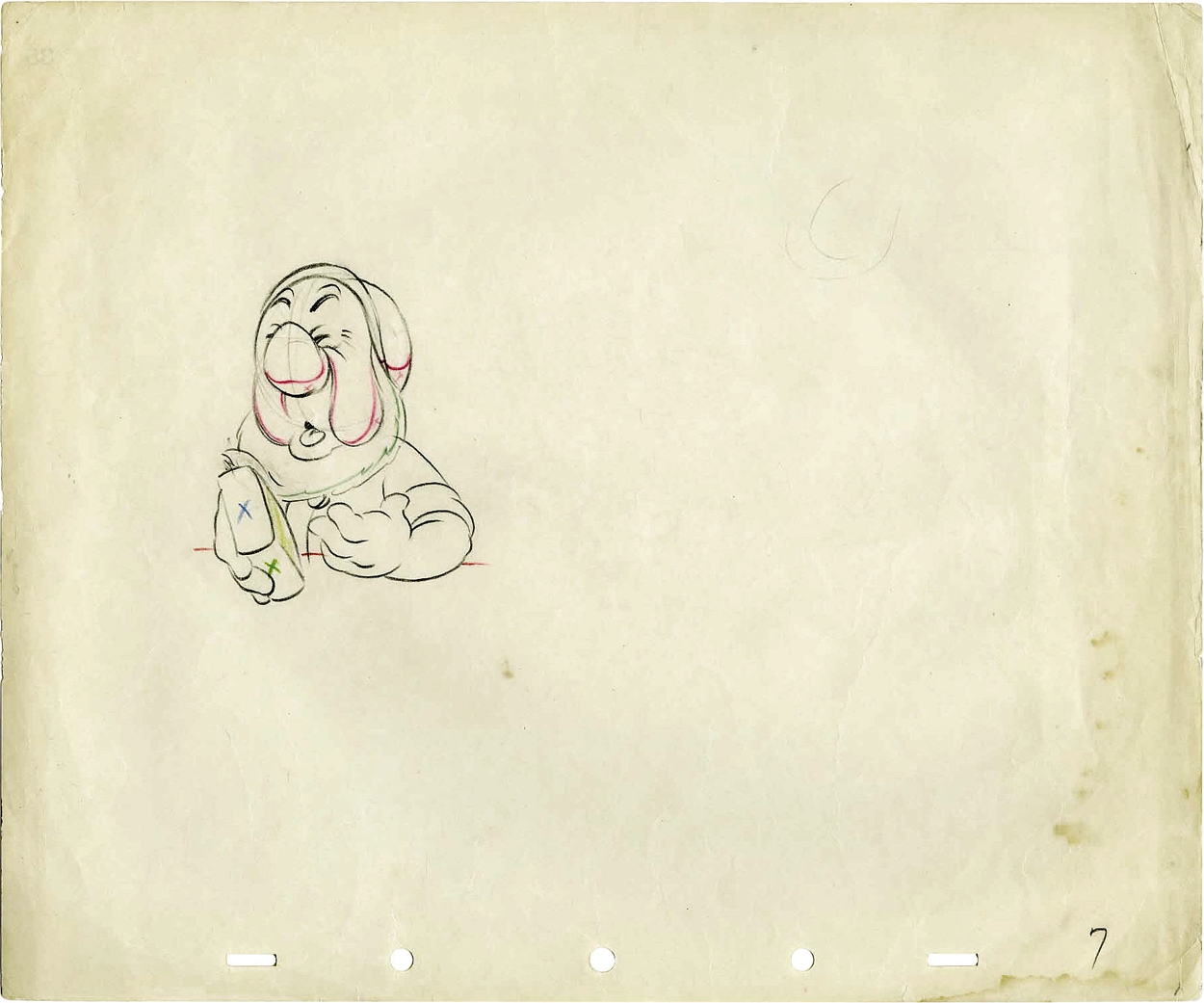 Walt disney studios snow white and the seven dwarfs pencil