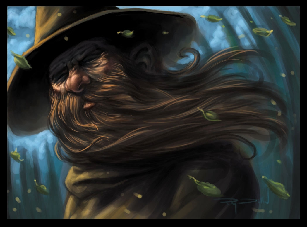 wizard in ray dillon s painting concept art comic art gallery room