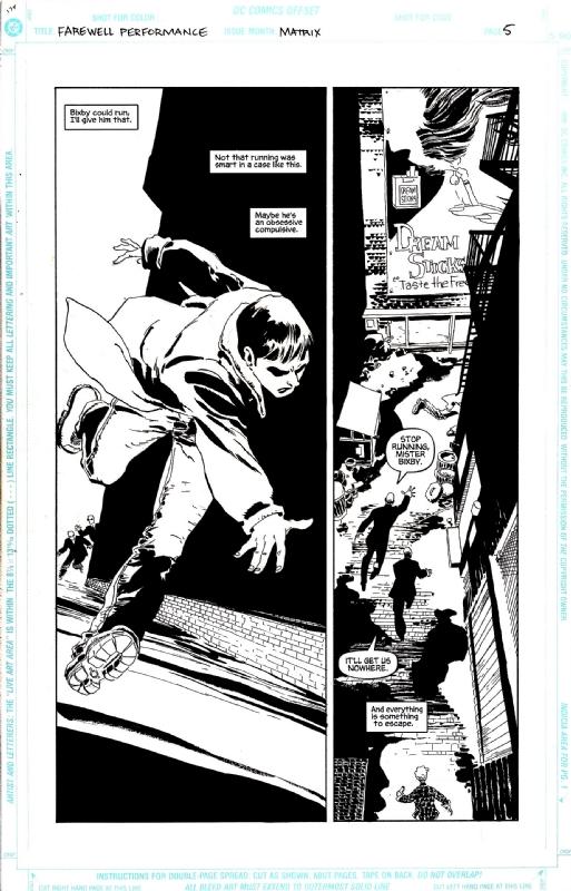 Matrix: Farewell Performance pg 5, in Jared Michalski's Matrix