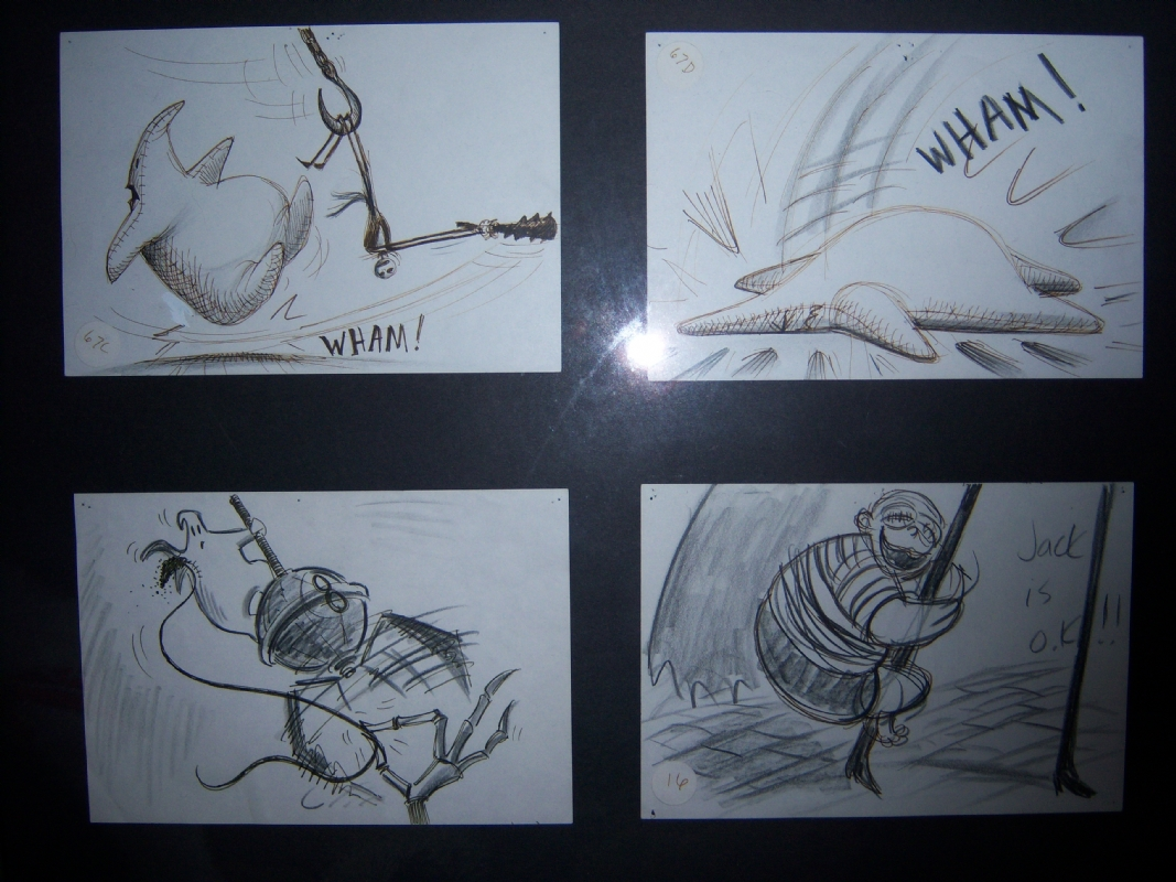 Nightmare before Christmas storyboards, in Chris Palmerini\'s ...