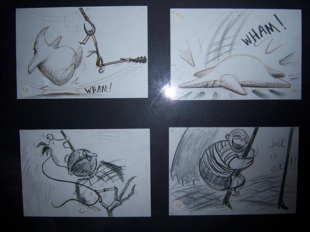 Nightmare before Christmas storyboards, in Chris Palmerini\'s ...