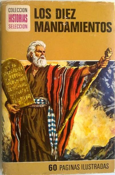 Moisés (Moses) en Los diez mandamientos / The ten