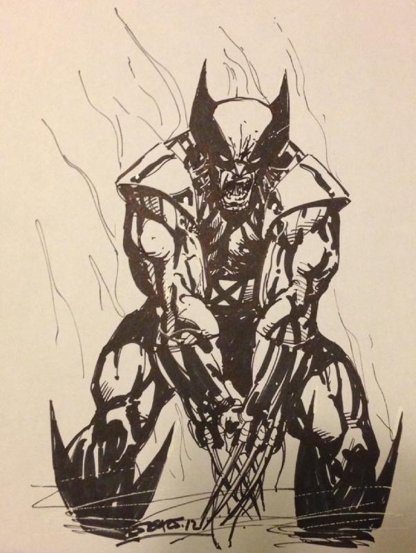 1f3de7b8f75 Wolverine by Bart Sears, in Richard Oh's Bart Sears Comic Art ...