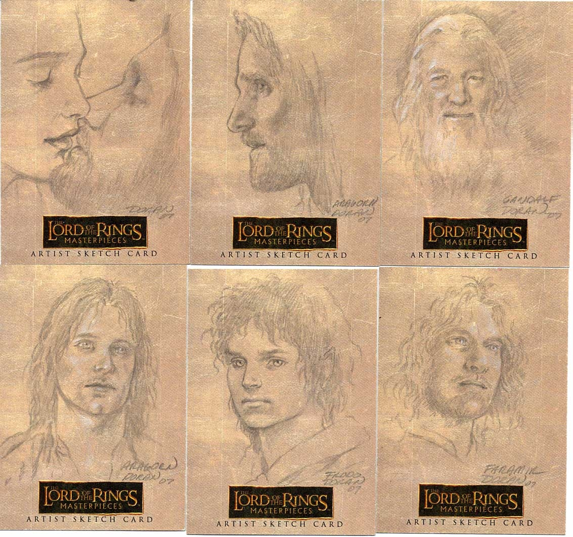 Lord Of The Rings Cards Database