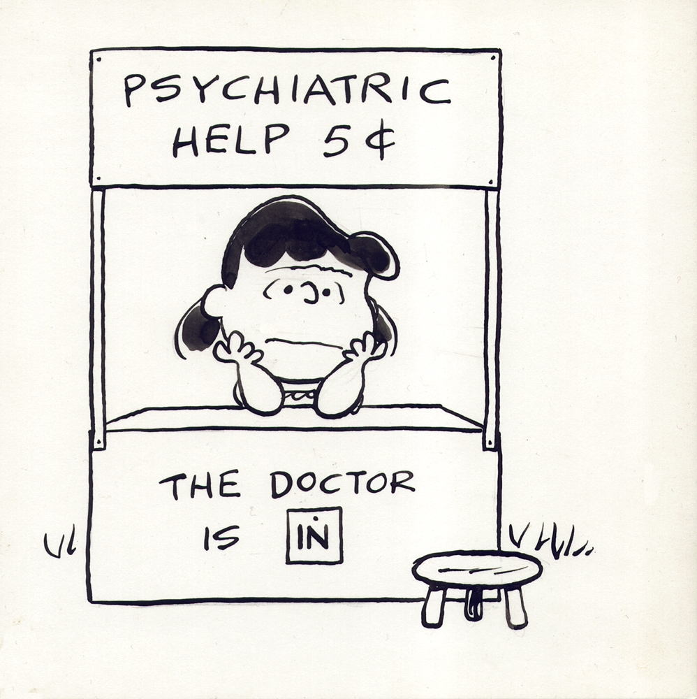 Image result for peanuts lucy