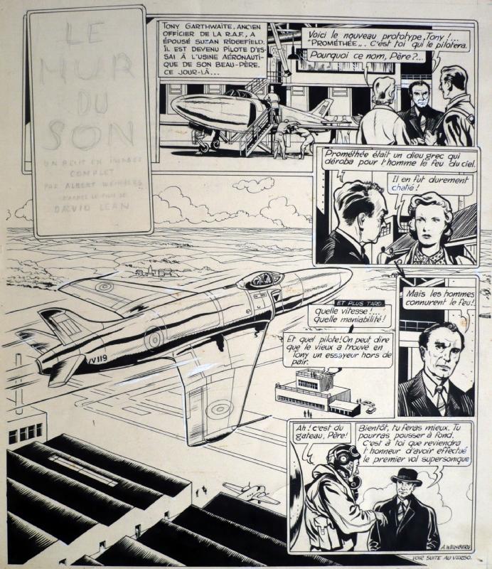 Weinberg Le Mur Du Son In F B S Auction Sale June 21 2012 Comic Art
