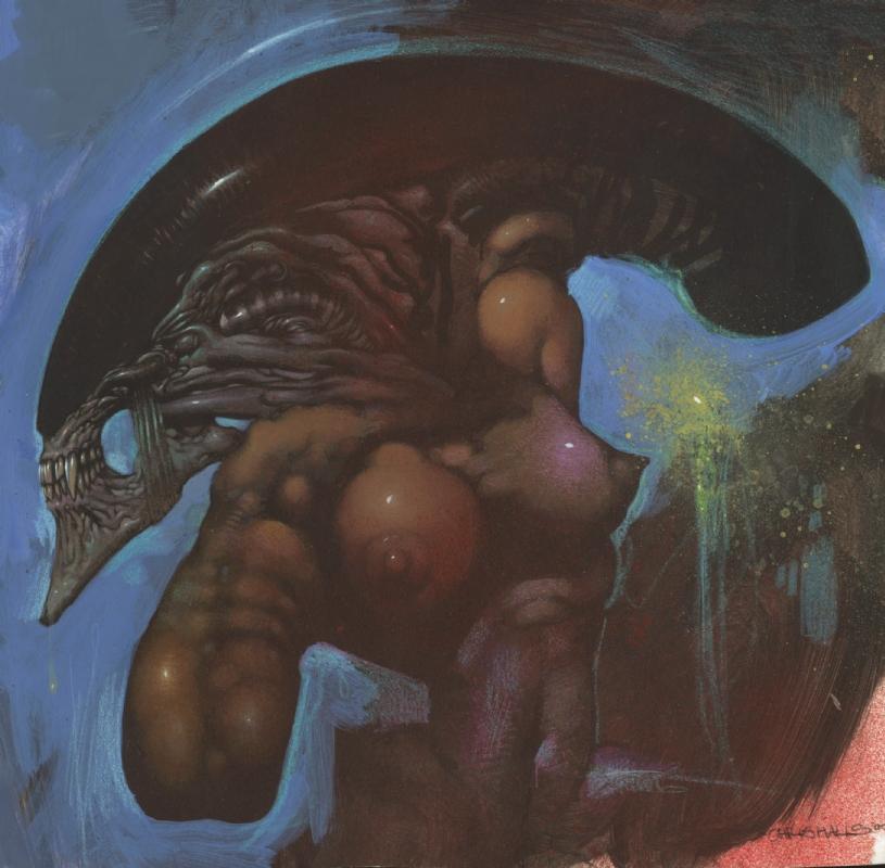 Alien 3 Concept Art By Chris Cunningham Halls In Jack