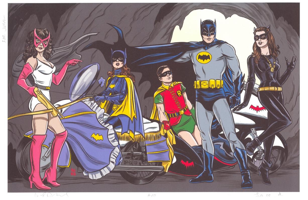 817bb03a9b0ab8 Mike Allred Batman  66 - Batman Family (Catwoman