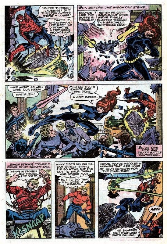 Marvel Team Up 98 Page 15 Spider Man Black Widow In