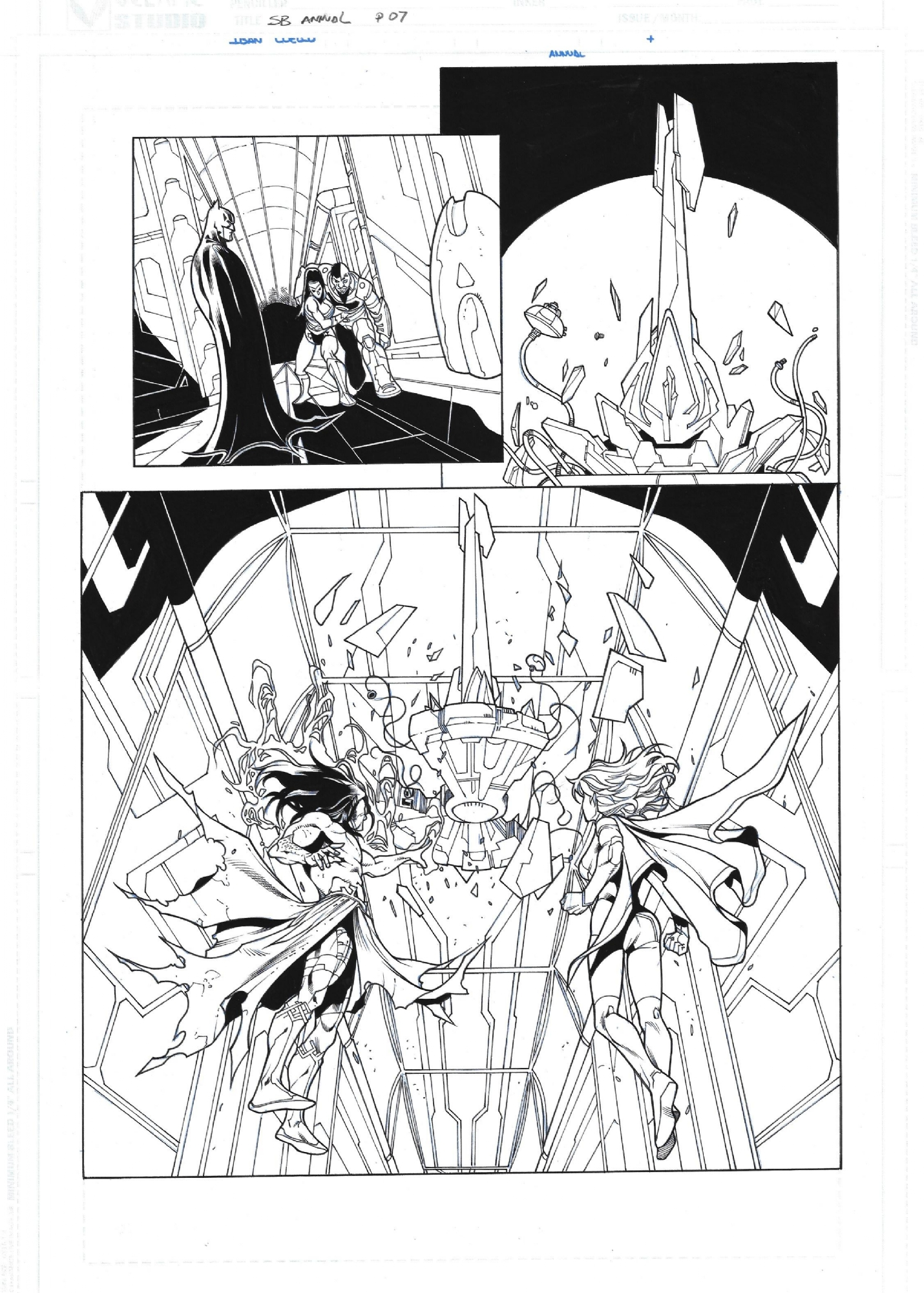 Superboy Annual #1 p7 (2013) Iban Coello / Rob Lean 2/3