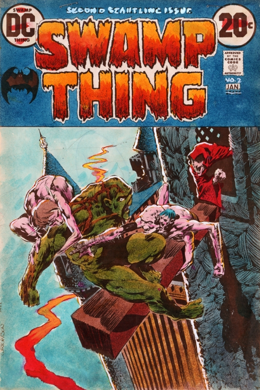 Swamp Thing #2 Original Cover Color Key, in Korry Smith's Comic