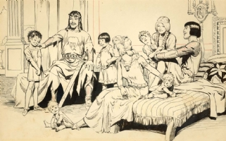Hal Foster - Comic Artist - Th...