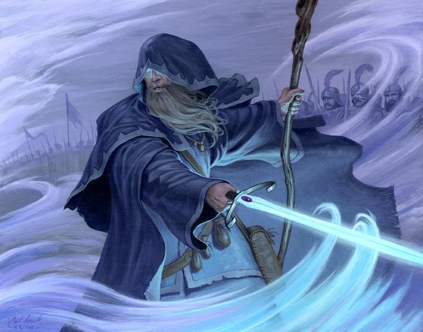 imperial battle wizard in steve tarrason s frank carl comic art
