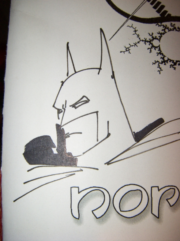 Batman Doodle Breyfogle In Will Mongeaus Convention Sketches Comic